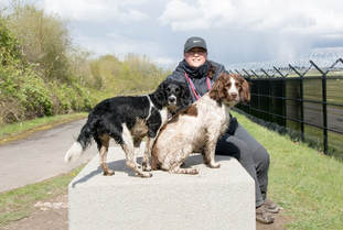 Dog Walker from Northern Moor